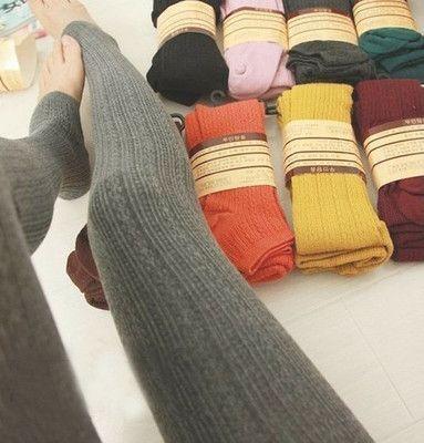 Womens Ladies Comfortable Winter Warm Cotton Tights Pants Stirrup Leggings Hot | eBay ~$7 total