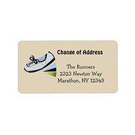 Adhesive Address Labels #custommailinglabels #changeofaddress #familyaddresslabels