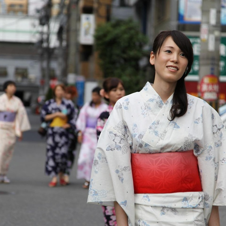 Yukata - one of the symbols of summer in Japan