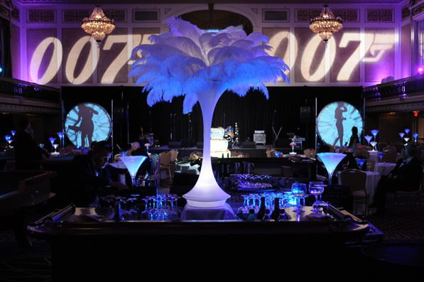 Heck Yes!  A James Bond theme event!  I am in!