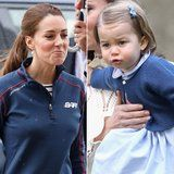 7 Veces a la Princesa Charlotte Demostrado que, Definitivamente, una Mamá de la Niña