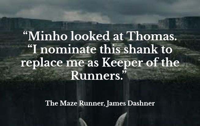 The Maze Runner James Dashner Quotes. QuotesGram