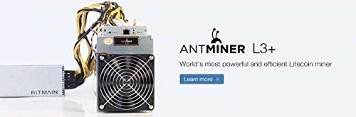 % TITLE%  - BRAND NEW Bitmain ANTMINER L3+! *YES! It comprises the Power Provide! L3+ are the HOTTEST, So much EFFICIENT LITECOIN miners to be had. When you order, you'll receive an email with my private mobile phone number. L3+'s are slated for delivery between January thirteenth and February... -  % SURL%