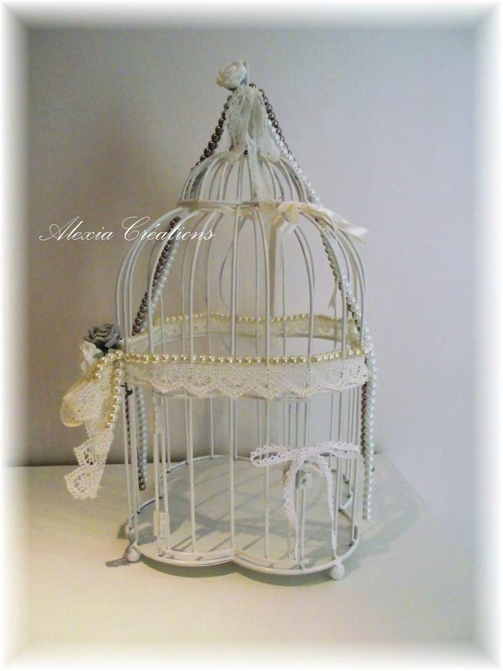 cage a oiseaux decorative maison du monde - urne de mariage cage oiseaux maisons du monde