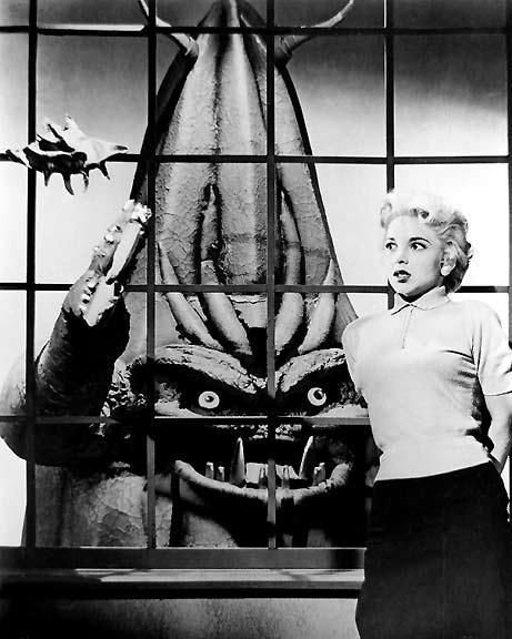 Paul Blaisdell's Cucumber Monster from Roger Corman's It Conquered The World 1956
