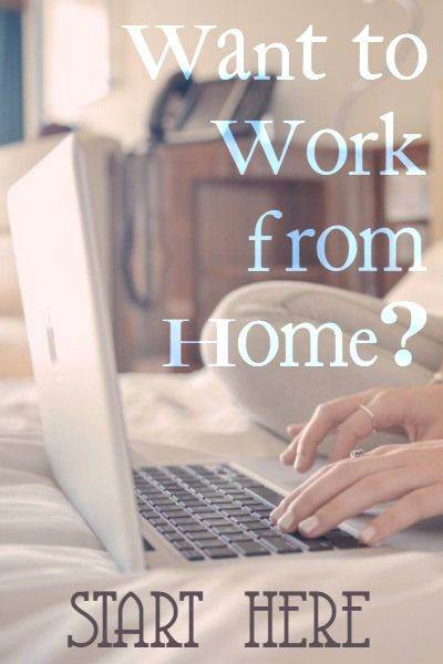 Start Working From Home