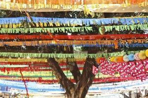 Street decorations, Nerja Fiesta