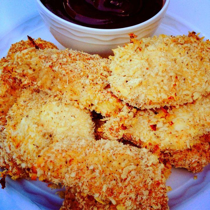 Panko Crusted Chicken Fingers - The Lemon Bowl