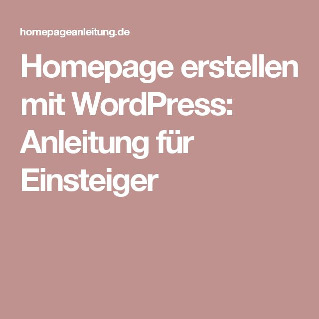 Homepage erstellen mit WordPress: Anleitung für Einsteiger - Tap the link to shop on our official online store! You can also join our affiliate and/or rewards programs for FREE