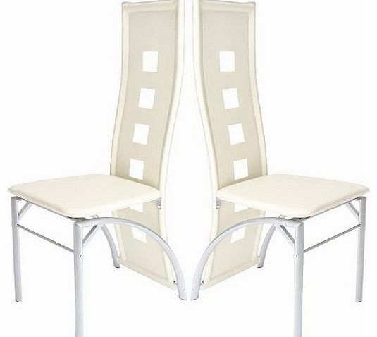 Miadomodo® EZSTL05-1 2 Dining Room Chair Set High Back Faux Leather (Cream White) No description (Barcode EAN = 4250787422779). http://www.comparestoreprices.co.uk/leather-dining-chair/miadomodo®-ezstl05-1-2-dining-room-chair-set-high-back-faux-leather-cream-white-.asp