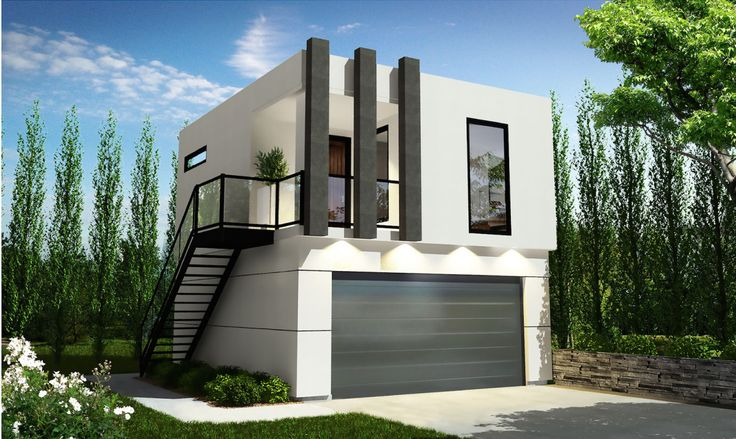 Garage Secondary Suite Backyard Dwelling Unit Shipping Container Sea Can Home House