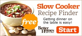 """Custom Slow Cooker """"cookbook"""" made for you after answering a few questions about your preferences."""