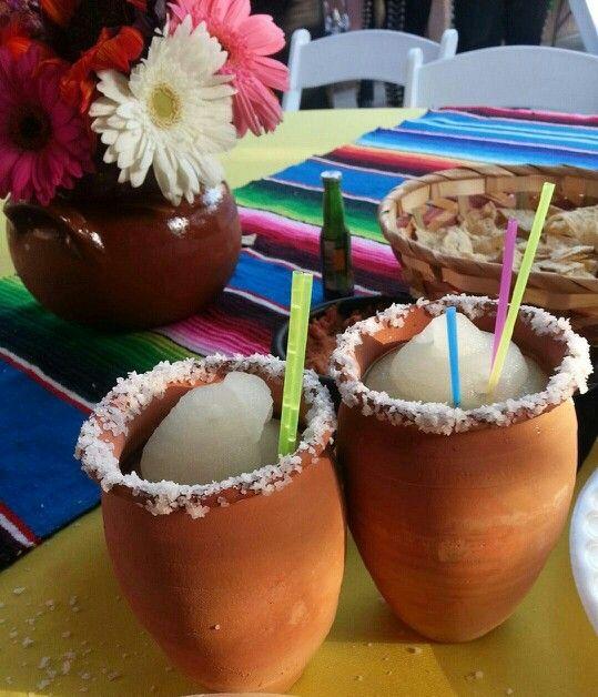 Mexican Jarritos for Margaritas
