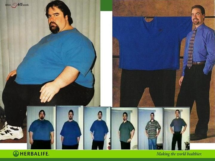herbalife weight loss results