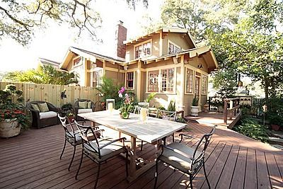 17 best images about bungalow backyards on pinterest for Craftsman homes for sale in florida