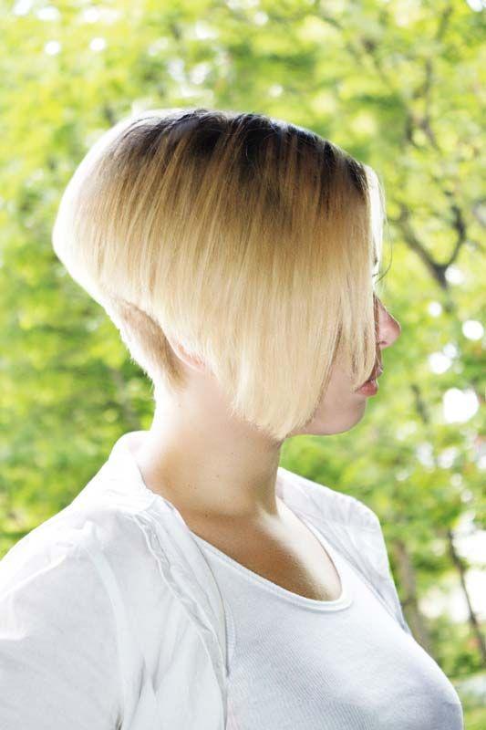 Short Bob Hairstyles Front Back Hairxstatic Angled Bobs