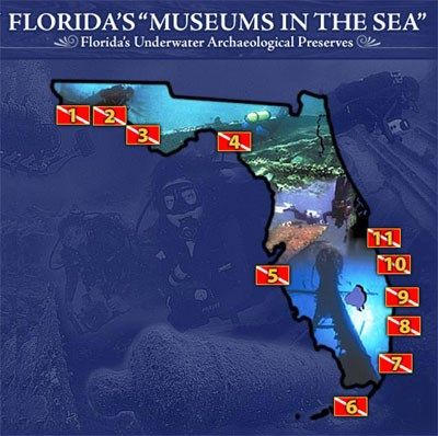 Underwater Preserves - Division of Historical Resources - Florida Department of State