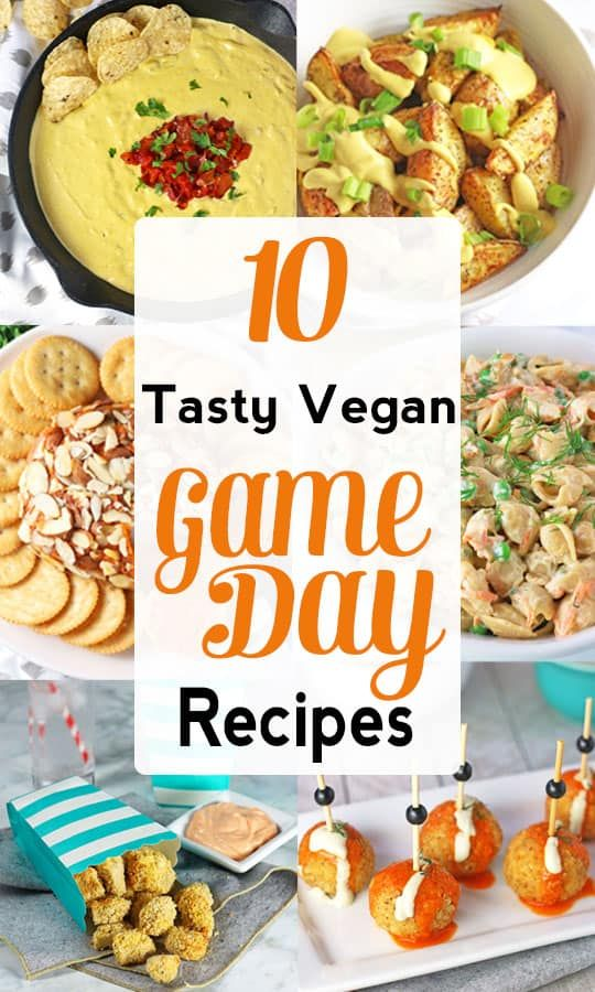 Vegan Game Day Snacks | Gameday is not only for sports, it's for eating! These deliciousvegan game day recipes are perfect for vegans looking to enjoy tasty food for football, basketball, soccer or the Superbowl! They rival any omnivore fare! #vegansnacks #vegansuperbowlrecipes  via @VNutritionist