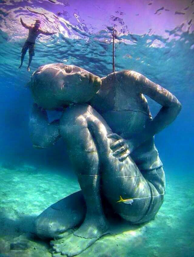 Gallery: The sculpture garden at the bottom of the sea