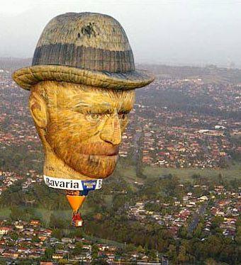 Van Gogh Hot Air Balloon