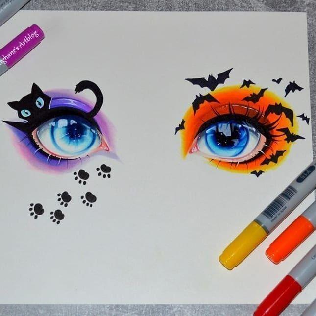 I draw this eyes – #artsy #draw #eyes