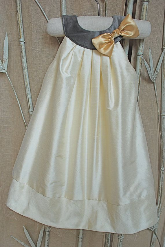 Silk special occasion dress