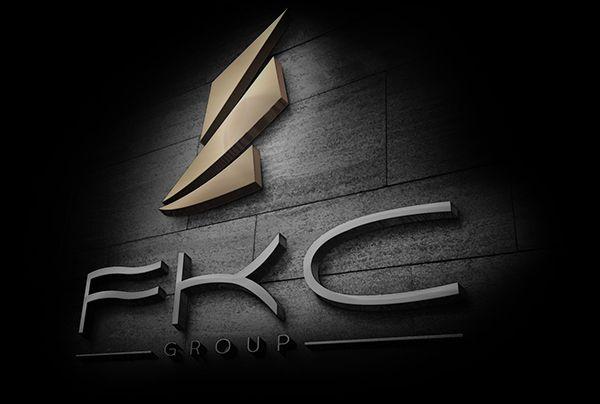 FKC GROUP Logo concept