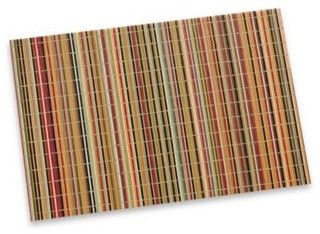 Bamboo Stripe Placemat - Contemporary - Placemats - by Bed Bath & Beyond