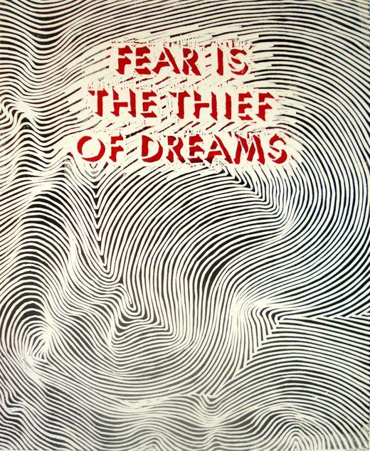 So true!: Panic Attack, Dreams Big, Dreams Coming True Quotes, Wisdom, Thief, Living, Inspiration Quotes, Dreams Quotes, True Stories