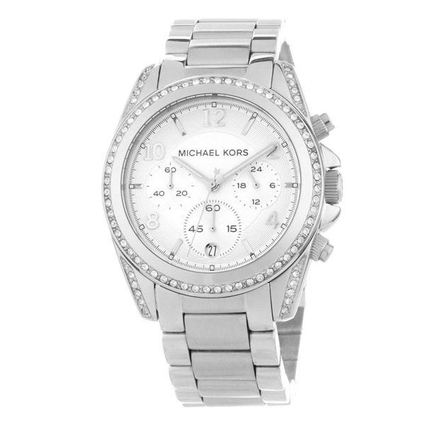 Купить Часы женские Michael Kors Blair, серебряные