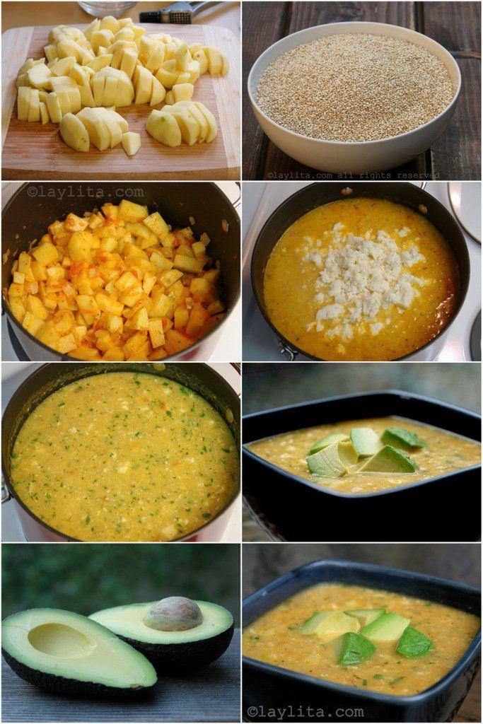Quinoa And Cheese Soup Locro De Quinua Laylita S Recipes Recipes Cheese Soup Ecuadorian Food