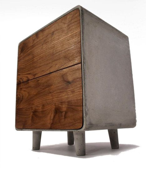 Concrete Cabinet by Jen Willoughby: Substantial!