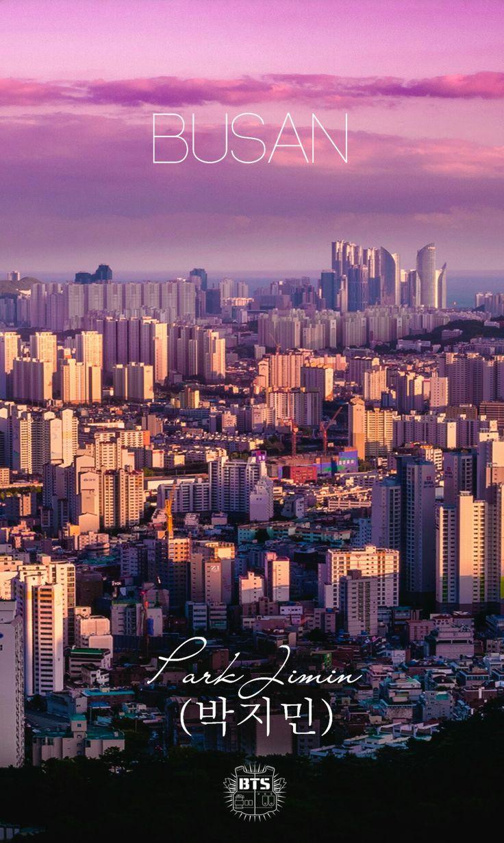 BTS hometown Jimin Busan