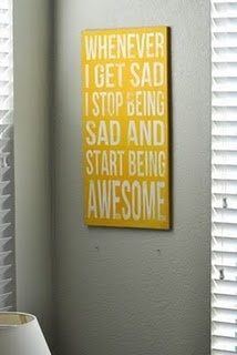 Start being awesome  >> Monday, August 1, 2011    Another Pinterest inspiration. Are we noticing a trend here? My friend fell for this and since she swears she is not crafty she recruits me to make it for her. It was available at some point at an Etsy shop but the link no longer is valid.    Via Pinterest - Etsy link is broken  A funny tidbit for you - this friend reports to me at work. We have been friends outside of work since before she started reporting to me. I think her recruiting me…