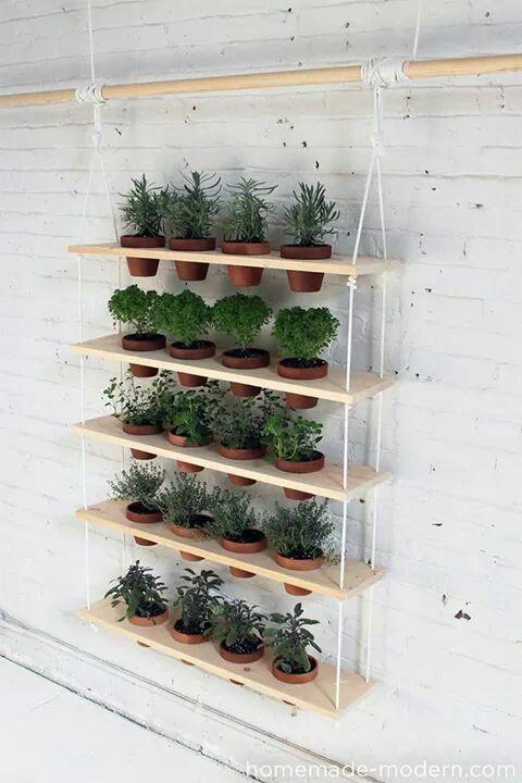 Porta vasi verticale