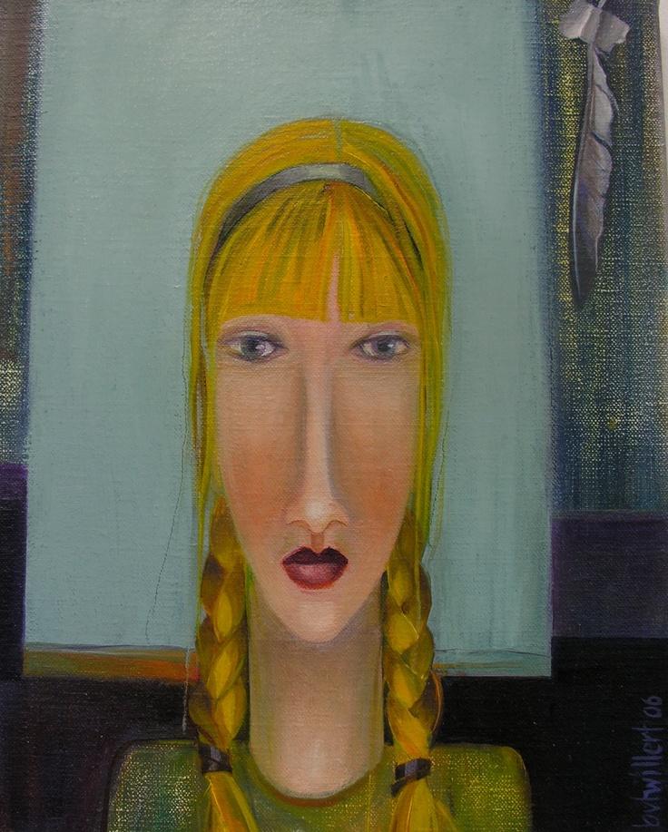 woman portrait/ Bea van Twillert