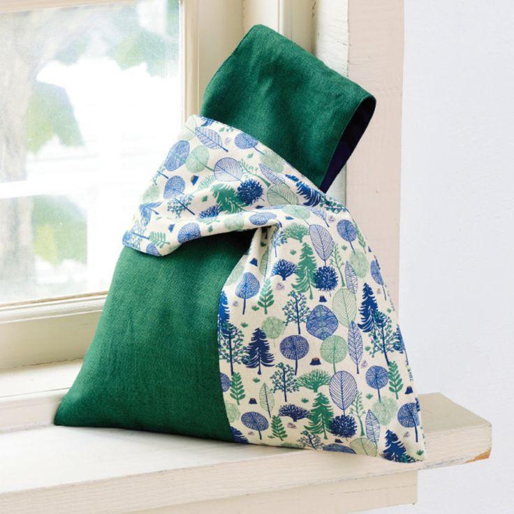 ワンハンドルにもなる!おしゃれな緑色の2wayバッグの作り方(バッグ) | ぬくもり