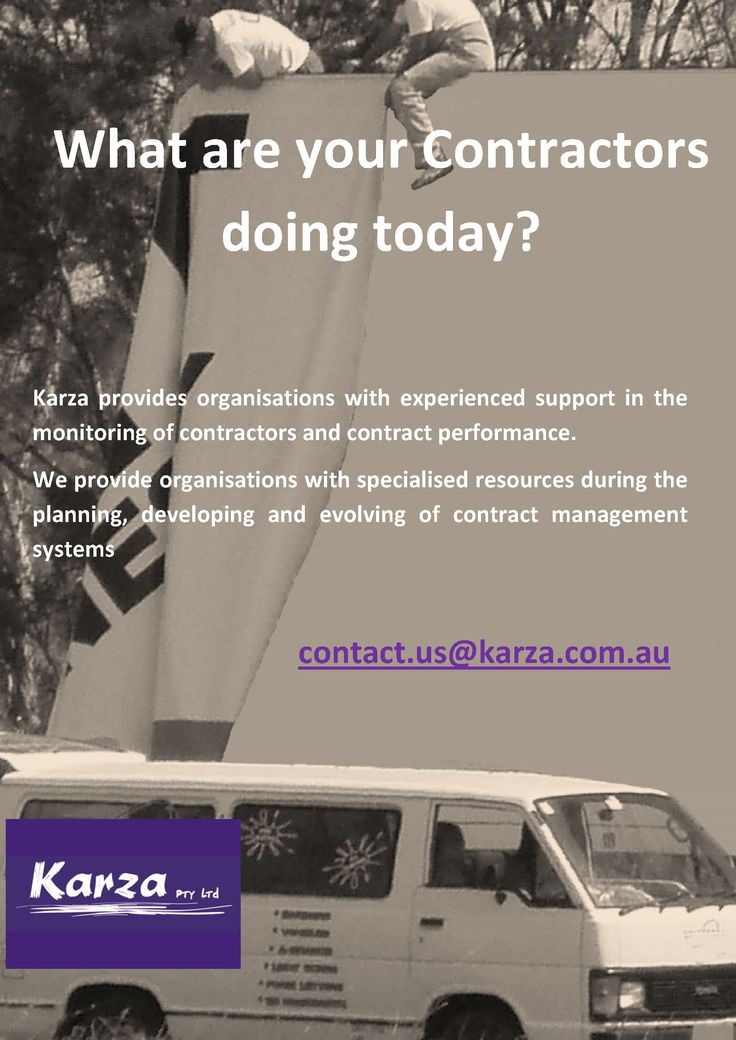 Karza provides organisations with experienced support in the monitoring of contractors and contract performance. We provide organisations with specialised resources during the planning, developing and evolving of contract management systems