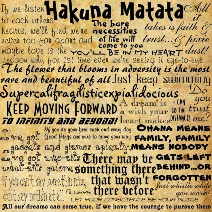 Disney quotes!: Words Of Wisdom, Disney Quotes, No Worries, Not Namatata, Disney Songs, Life Lessons, Movie Quotes, Best Quotes, Disney Movie
