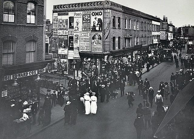 Trade and Advertising on Rye Lane, Peckham in 1913   Flickr - Photo Sharing!