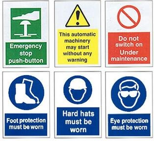 machine shop safety posters