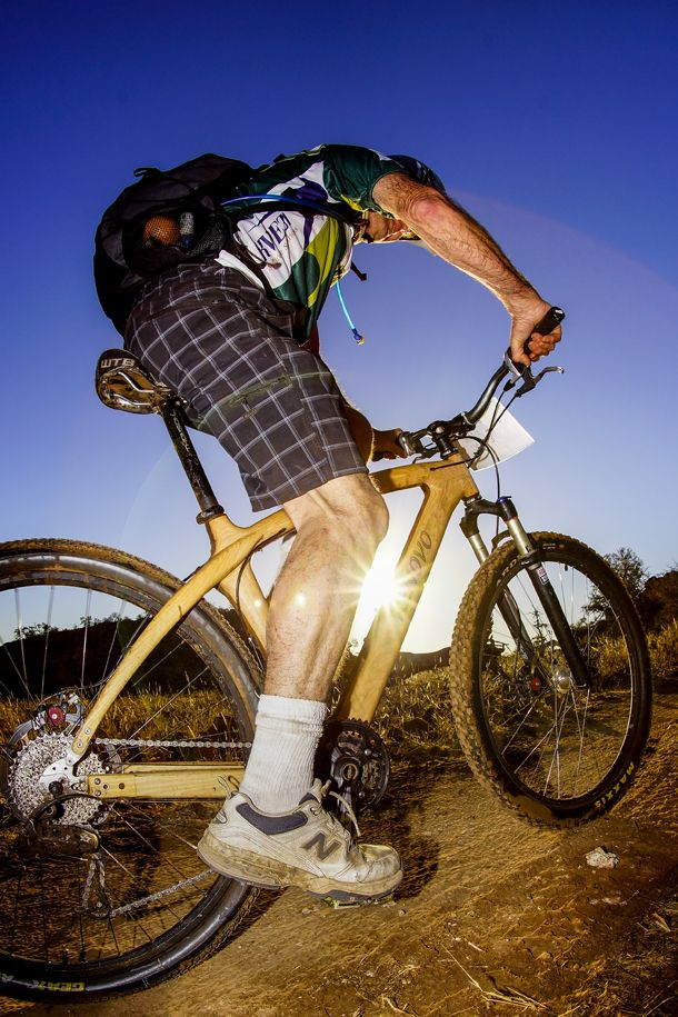 Who remembers Rick Nowack from the 2013 Nedbank Tour de Tuli? Not sure which made the greater impression on us, his amazing wooden bike or his quietly-getting-on-with-it personal style