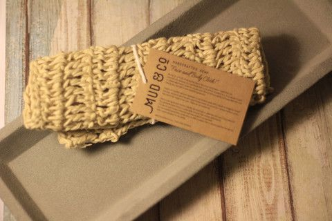 Organic Hemp Body Exfoliator Washcloth