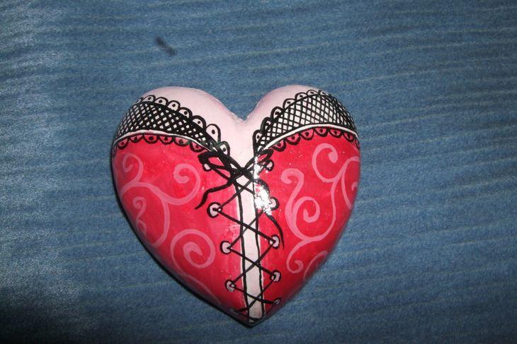 Лепка: валентинки (сердце, тесто, handmade) ФОТО #1