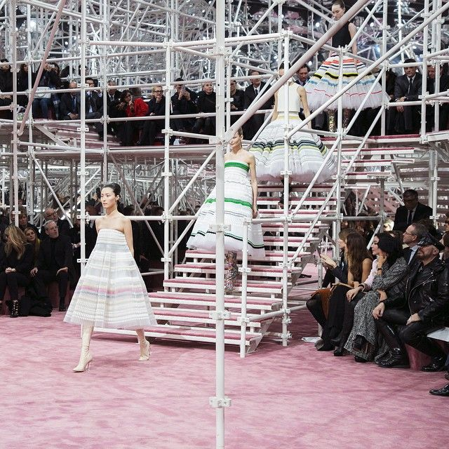 """Experience the finale of the Dior couture Spring-Summer 2015 show. Full collection unveiled on Dior.com. #PFW #Diorcouture"""