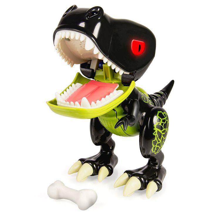 Amazon.com: Zoomer Chomplingz – Hyjinx Interactive Dinosaur: Toys & Games
