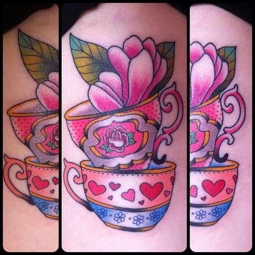 Teacup Tattoo Coffee Tattoos: 25+ Best Ideas About Cup Tattoo On Pinterest
