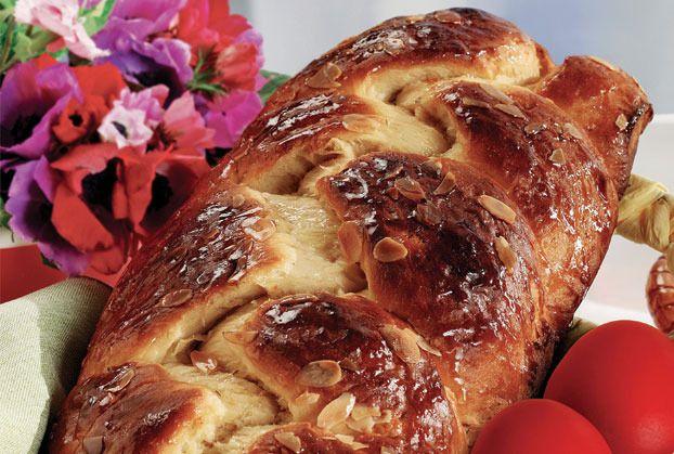 Easter Greek Tsoureki!!!!