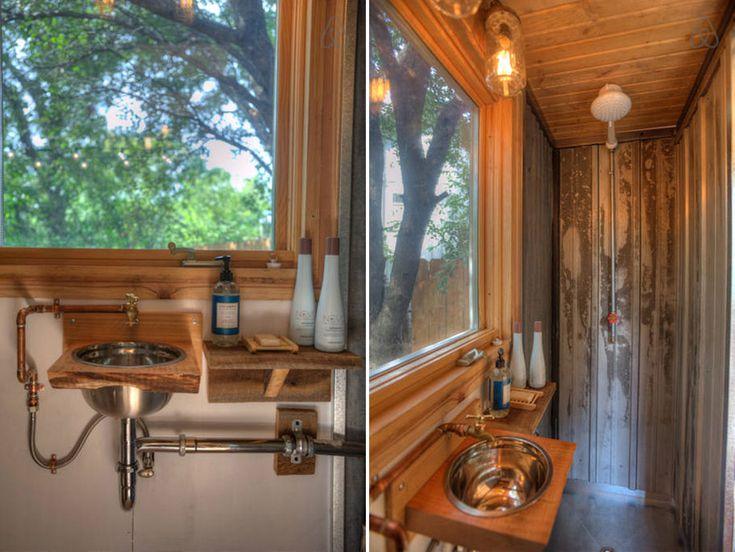 116 Best Tiny House Bath Images On Pinterest Tiny House Bathroom
