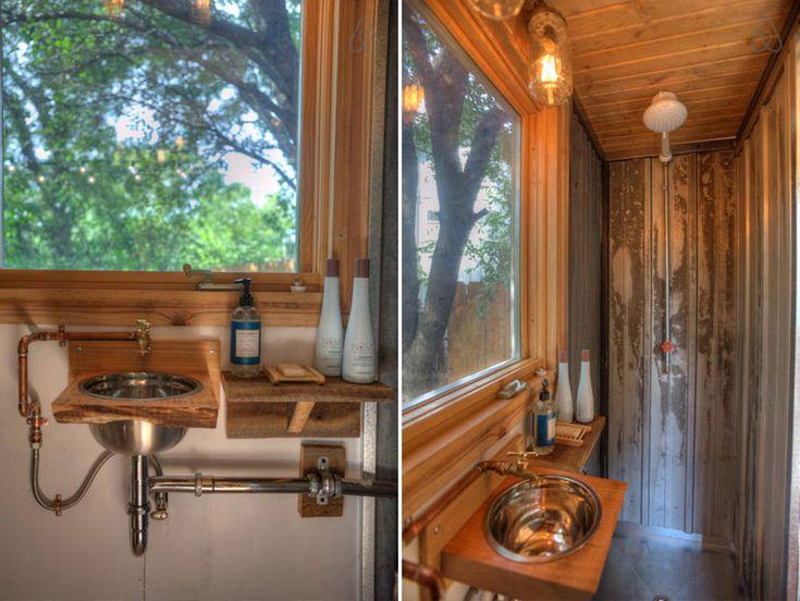 Best Tiny House Bath Images On Pinterest Small Spaces Tiny - Bathroom drawers on wheels for bathroom decor ideas